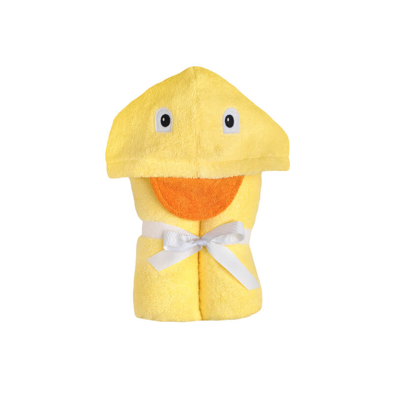 Yikes Twins Duck Hooded Bath Towel