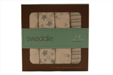 Aden + Anais Prince Charming Swaddling Blankets - 4 Pack