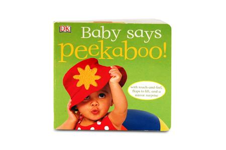 Baby Says Peekaboo