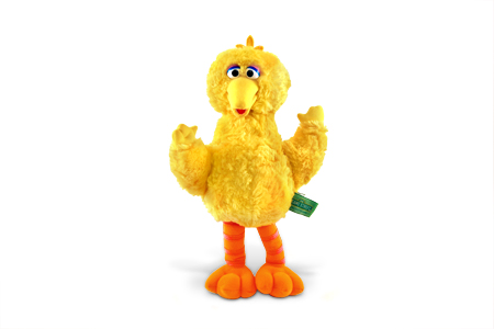 Big Bird plush