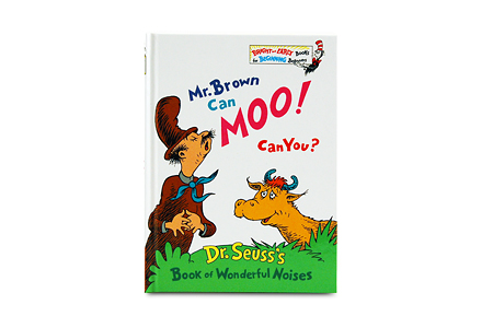 Mr. Brown Can Moo Can You?