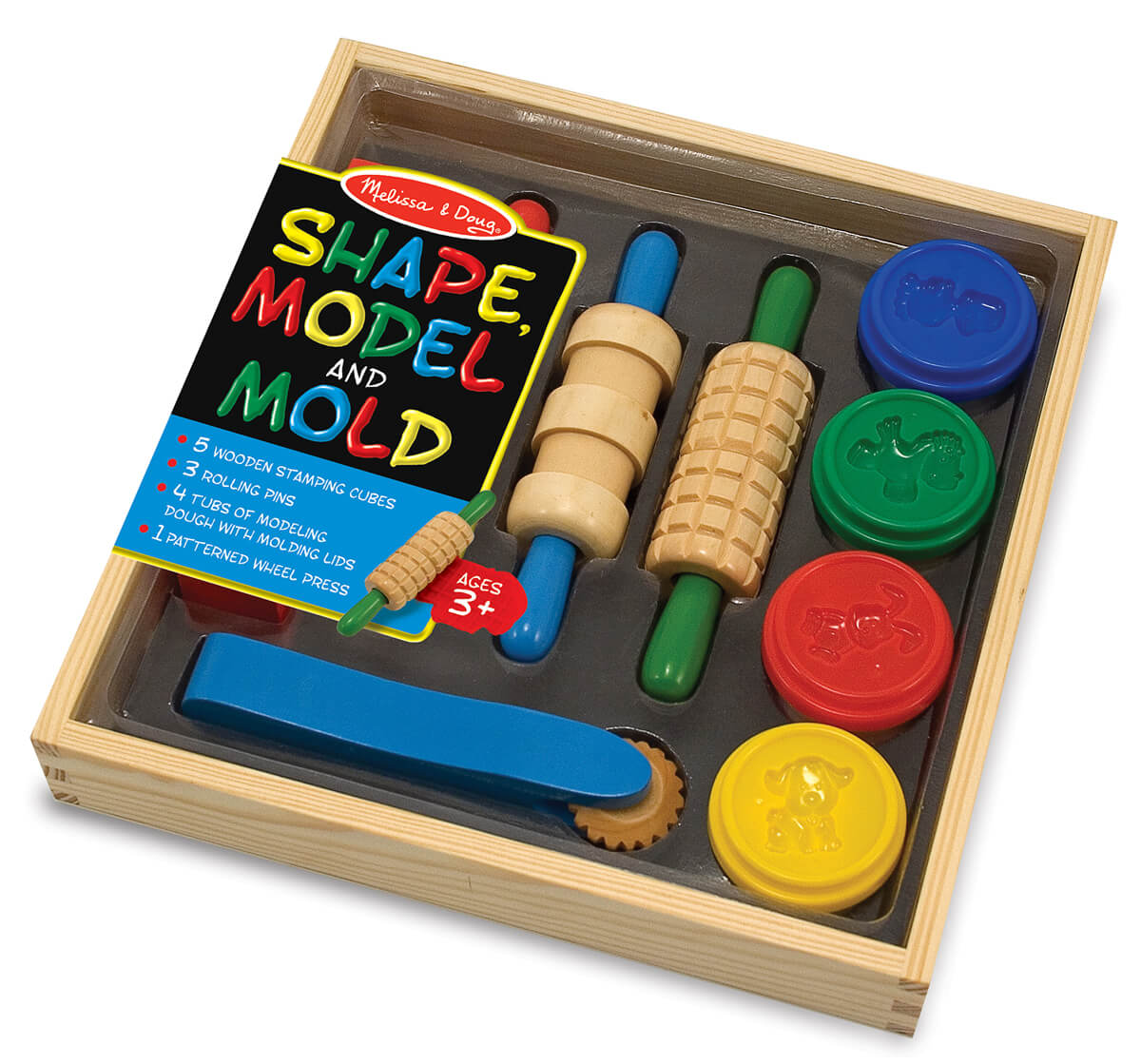 Melissa & Doug Shape, Model & Mold Dough Set