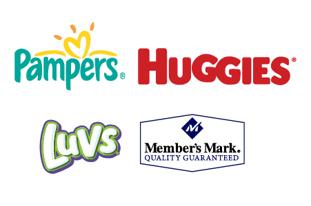 Recipients can choose any brand, type or size of diapers they want on their own schedule
