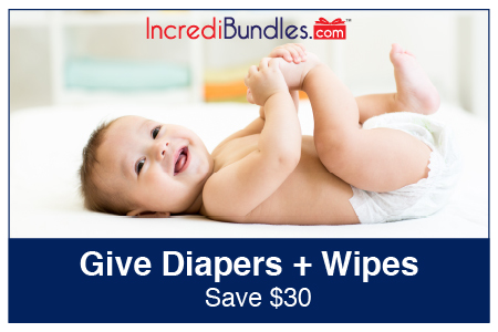 Save $30 when you purchase a Diaper Subscription and a Wipes Subscription