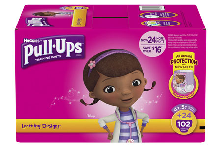 Huggies Pull-Ups Training Pants for Girls, Size 4T-5T (38+ lbs.), 102 ct.
