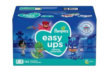 Pampers Easy Ups Training Underwear for Boys, 2T-3T (16-34 lbs.), 140 ct.