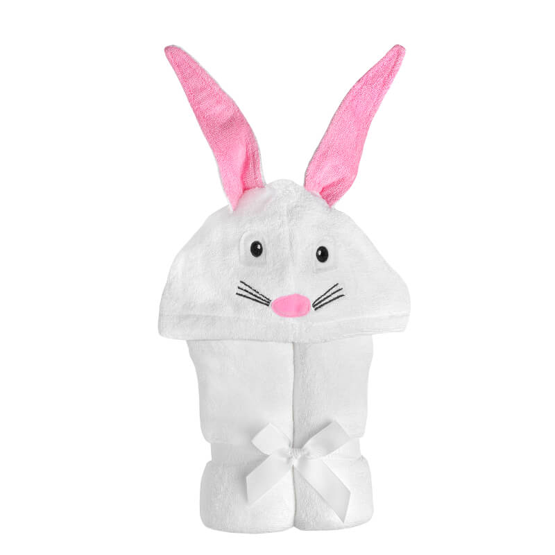 Yikes Twins Bunny Hooded Bath Towel
