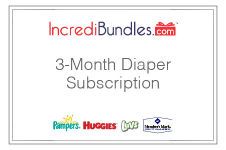 3-Month Diaper Subscription