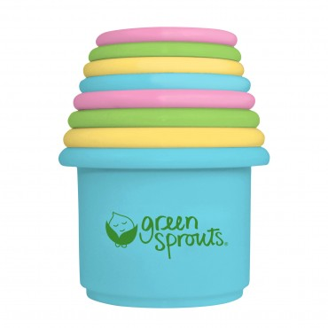 Green Sprouts Stacking Cups Set