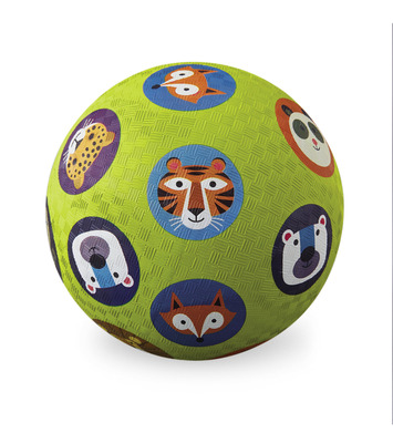 "Crocodile Creek Wild Animals 5"" Playball"