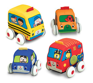 Melissa & Doug Pull Back Vehicle Set