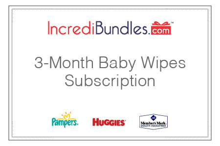 3-Month Baby Wipes Subscription