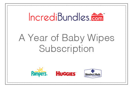 A Year of Baby Wipes Subscription